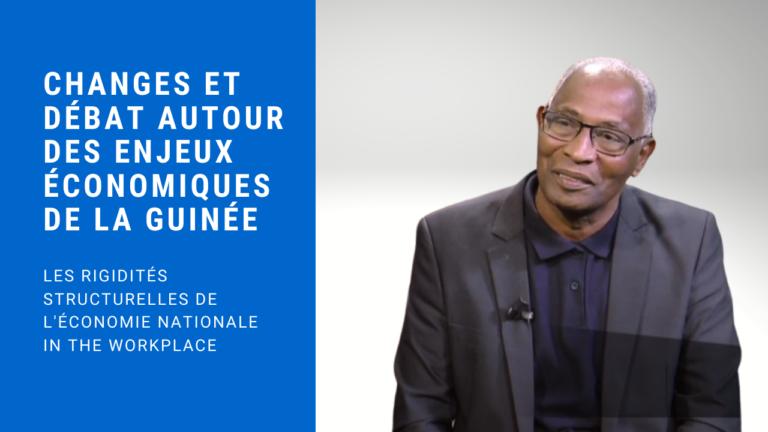 Échanges et débat autour des enjeux économiques de la Guinée