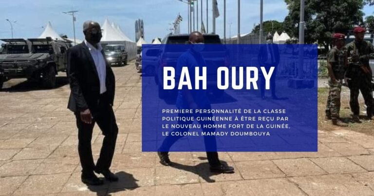 Bah Oury Revient Sur Sa Rencontre Avec Les Nouvelles Autorités du Pays